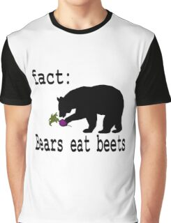 The Office Bears Eat Beets  Graphic T-Shirt