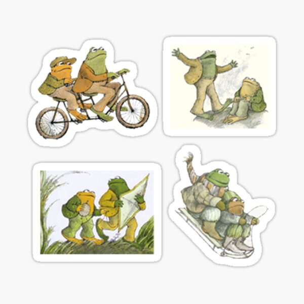 Frog and Toad Sticker Pack Sticker