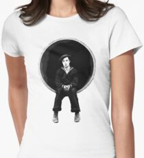 The Navigator - Buster Keaton Women's Fitted T-Shirt