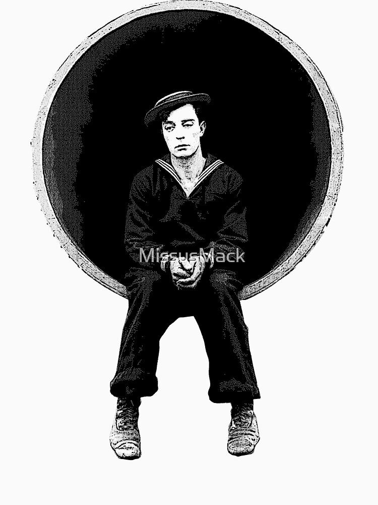 TShirtGifter presents: The Navigator - Buster Keaton | Unisex T-Shirt