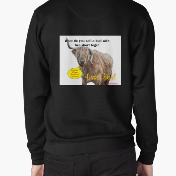 Raising The Steaks Pullover Sweatshirt