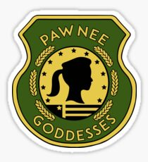 Pawnee Goddess - Parks & Recreation Sticker