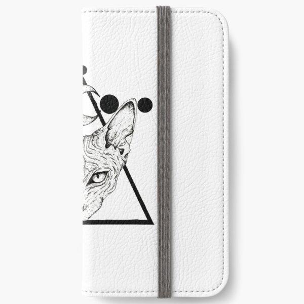 Sphynx cat iPhone Wallet