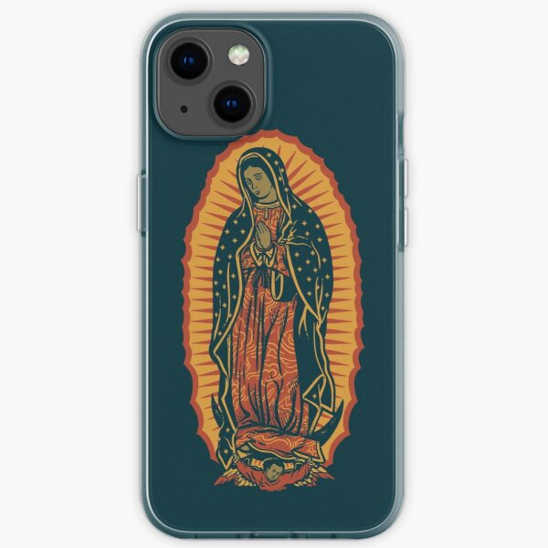 Unsere Dame von Guadalupe iPhone Fall iPhone Flexible Hülle