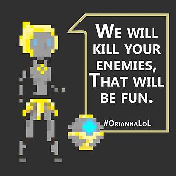 Pixel Orianna by Tropelio