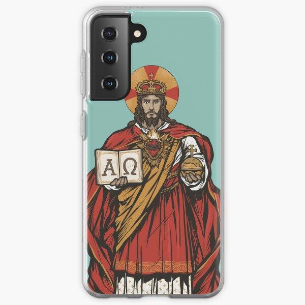 Ave Christus Rex Samsung Galaxy Soft Case