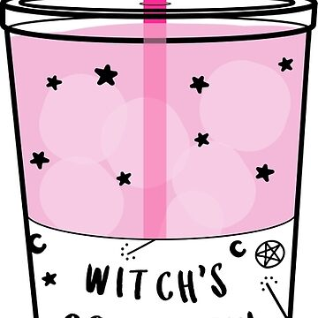 Witchy Cold Brew Coffee ☽ Trendy/Hipster/Tumblr Meme by saintlovely