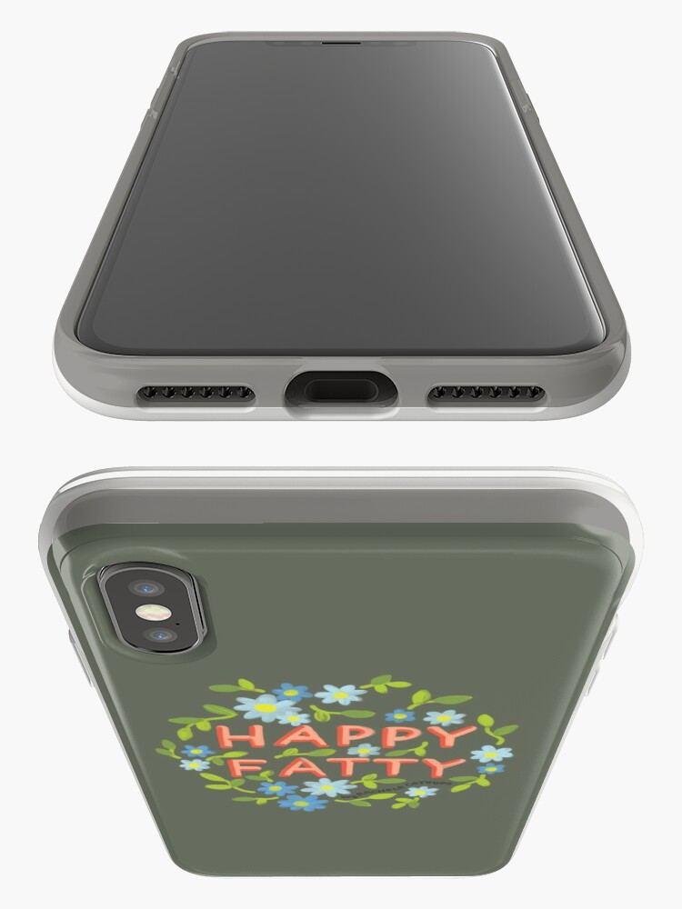 Alternate view of Happy Fatty iPhone Cases & Covers