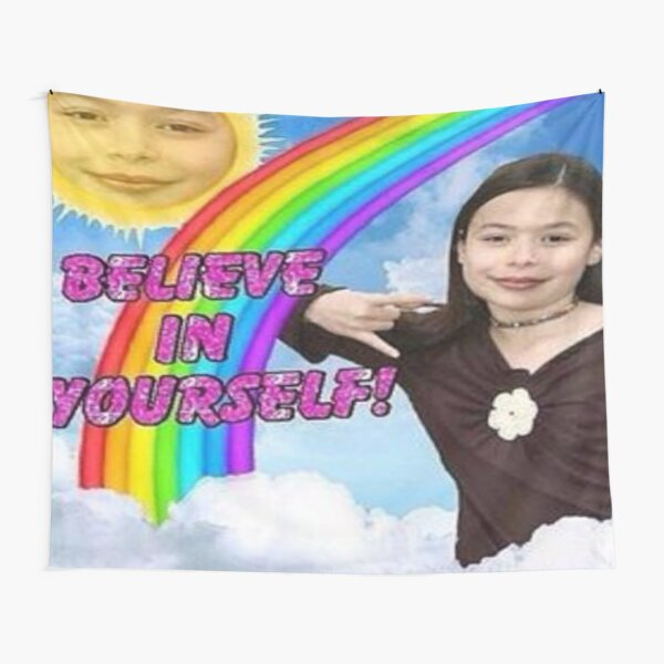 ICarly Believe in yourself design Tapestry
