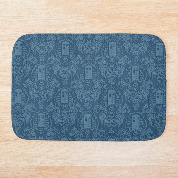 Doctor's Damask Bath Mat