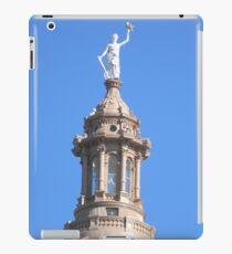 Keeping Watch for Marchers - View Larger iPad Case/Skin