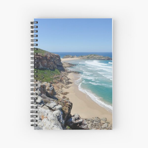 South Africa's Majestic Robberg Nature Reserve Spiral Notebook