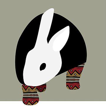 pattern rabbit by DreamingLizard