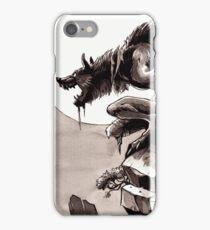 Crag Werewolf iPhone Case/Skin