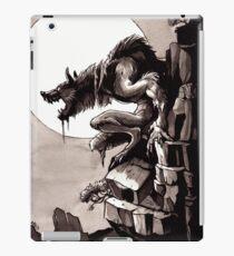 Crag Werewolf iPad Case/Skin