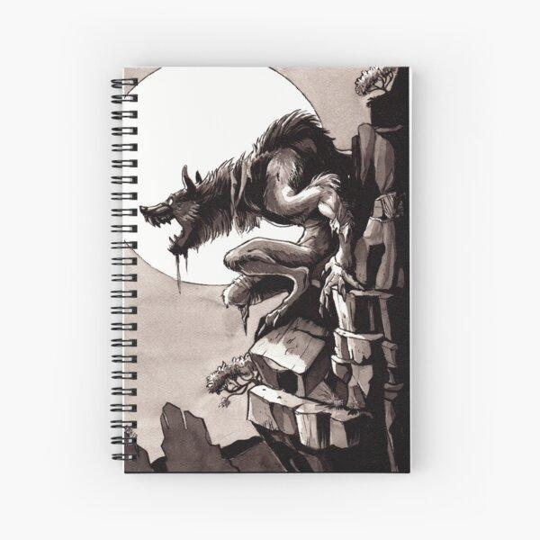 Crag Werewolf Spiral Notebook