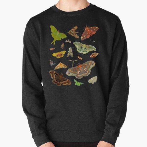 Moth Party Pullover Sweatshirt