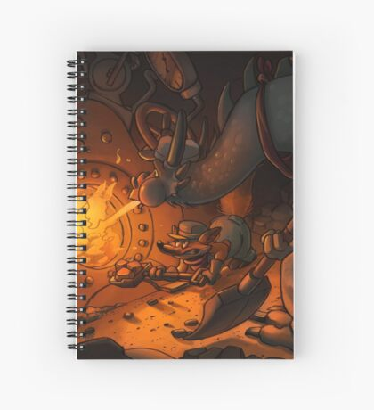 Engin-ears Spiral Notebook