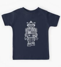 Vintage Toy Robot V2 Kids Clothes