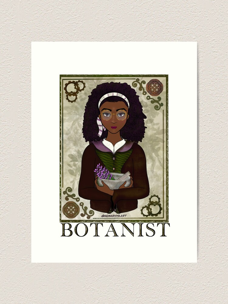 Alternate view of ABC's Types of Scientists: Botanist Art Print