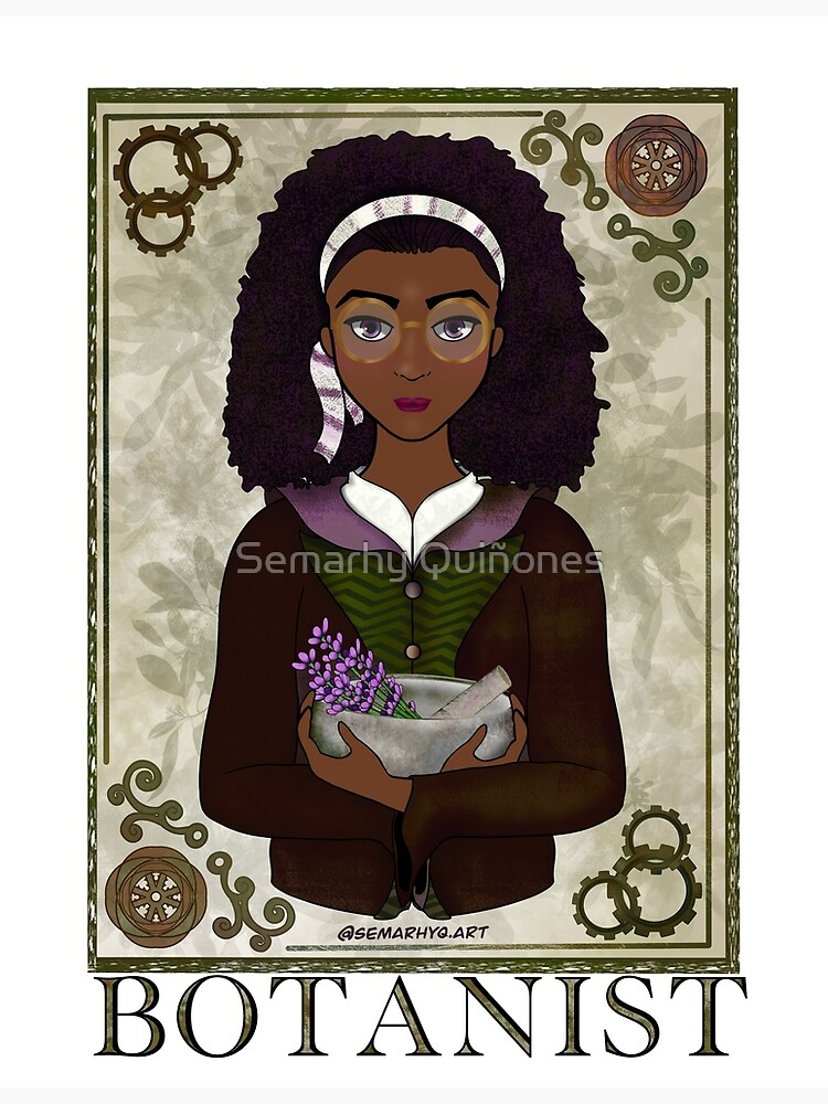 ABC's Types of Scientists: Botanist by semarhy