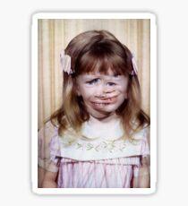 35mm Found Slide Composite - Mutant Girl Sticker
