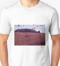 35mm Found Slide Composite - Desert Beach T-Shirt