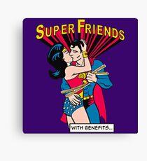 Super Friends Love Canvas Print
