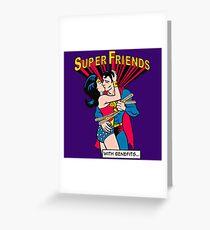 Super Friends Love Greeting Card