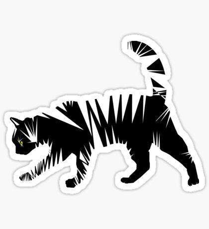 Jaggy Tiger Sticker