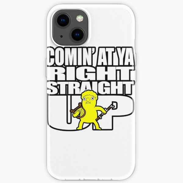 Comin' At Ya Right Straight UP iPhone Soft Case