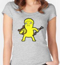 Camiseta entallada de cuello redondo Lemonhope