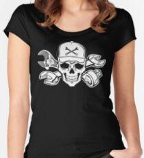 Mechanic Sayings T Shirts aircraft mechanic aircraft mechanic coffee   Women's Fitted Scoop T-Shirt
