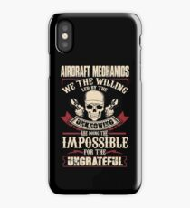 aircraft mechanic Car Mechanic T Shirts aircraft mechanic Auto Mechani iPhone Case