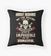 aircraft mechanic Car Mechanic T Shirts aircraft mechanic Auto Mechani Throw Pillow