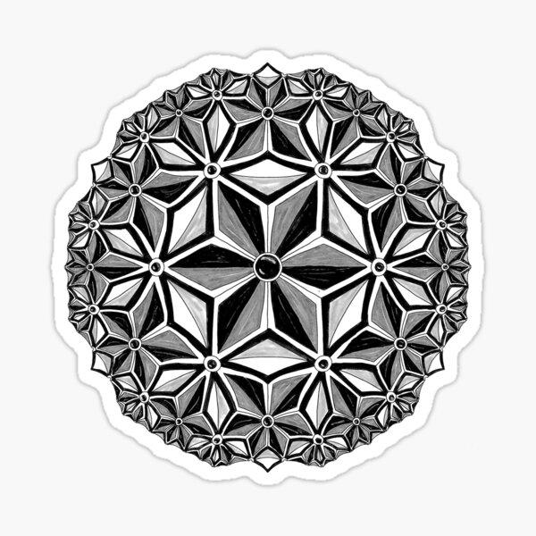 Constellation (greyscale) Sticker