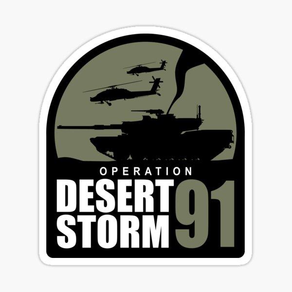 Operation Desert Storm 1991 Sticker