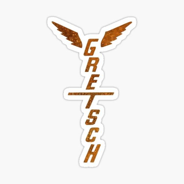 Gretsch Winged Headstock Sticker