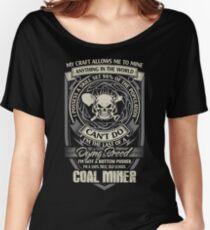 Coal Miner Tshirts coal miner christmas Male  coal miner coal miner wi Women's Relaxed Fit T-Shirt