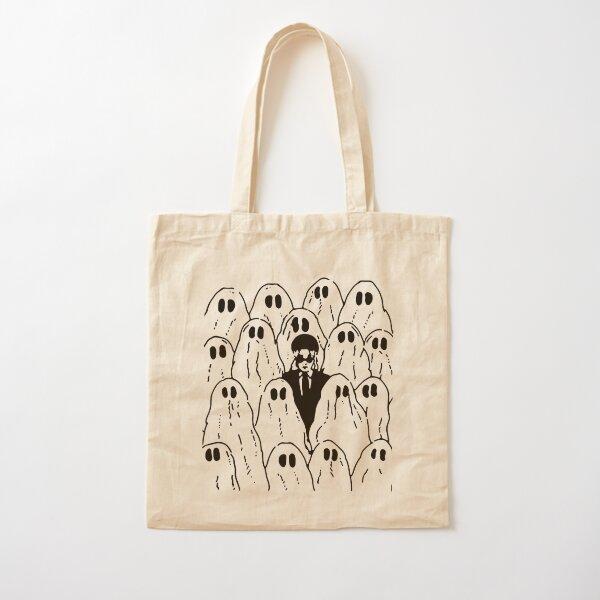 Phoebe Bridgers Ghost Cotton Tote Bag