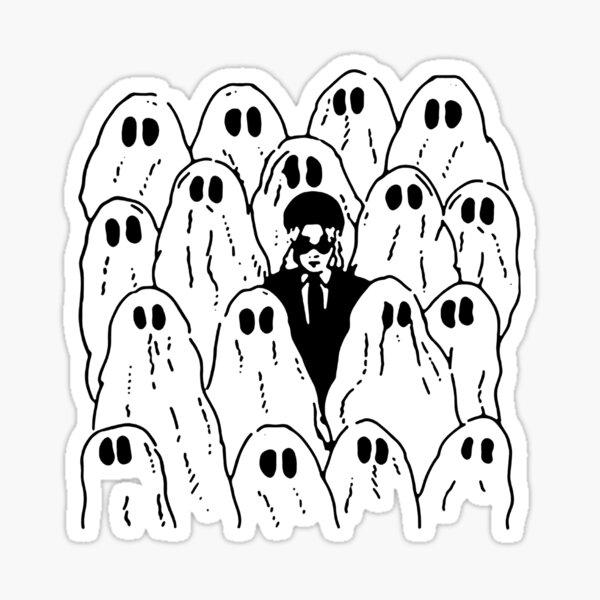Phoebe Bridgers Ghost Sticker
