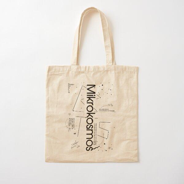Bangtan Boys Mikrokosmos Song Theme Cotton Tote Bag