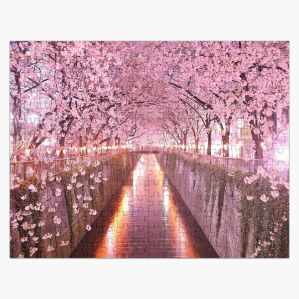 Sakura Cherry Blossoms  Jigsaw Puzzle
