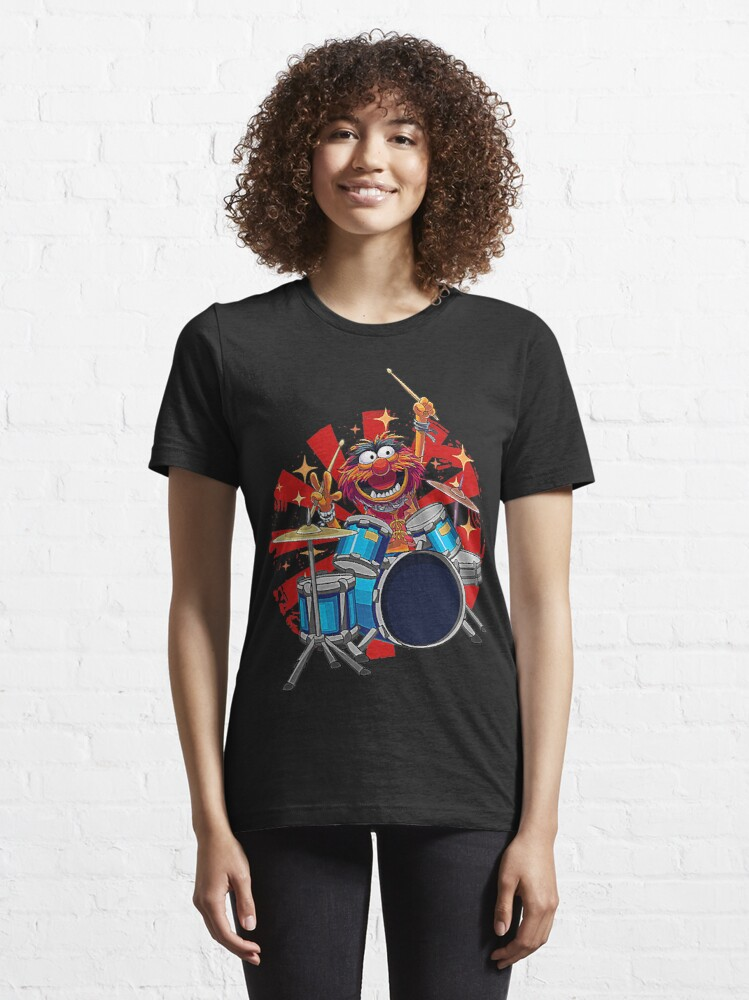 Alternate view of Animal Drummer The Muppets Show T-Shirt Essential T-Shirt