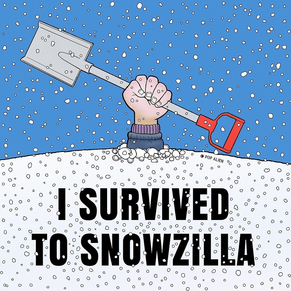 I SURVIVED TO SNOWZILLA by PopAlien