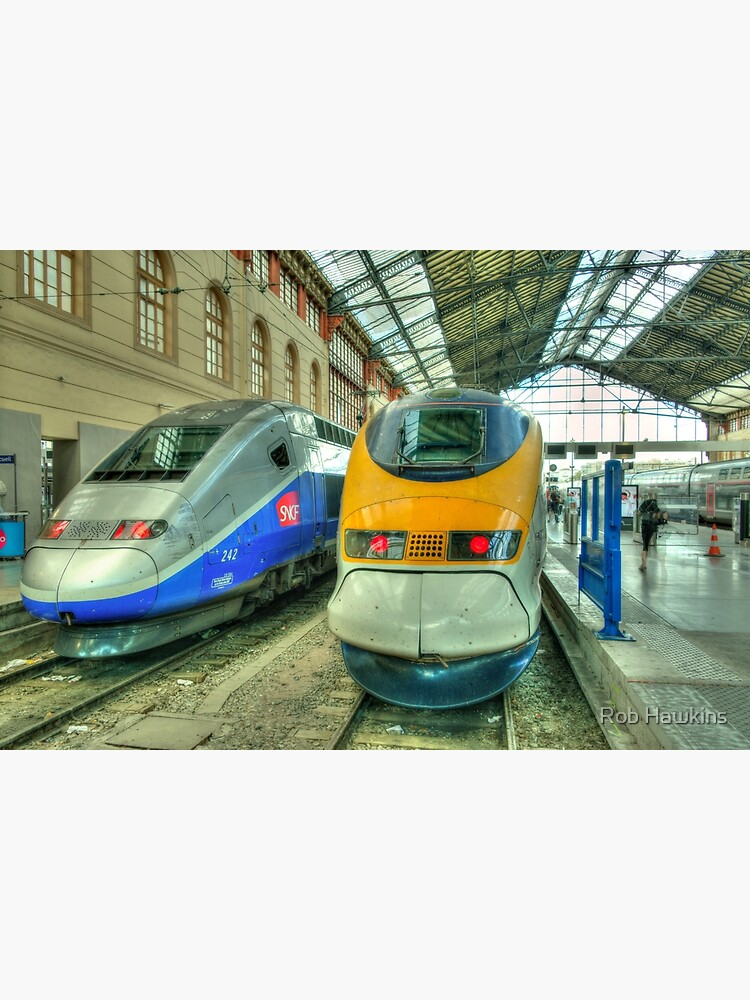 Marseille Trains of Grande Vitesse  by hawkie