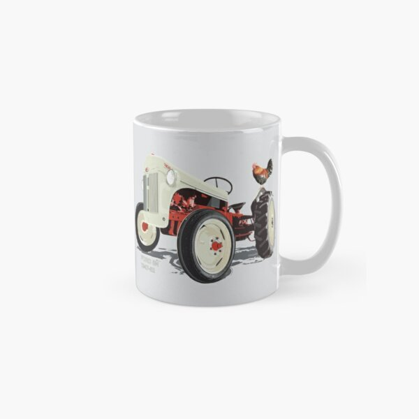 Old Redbelly, the Ford8N – with Barney the 'Rooster' Classic Mug