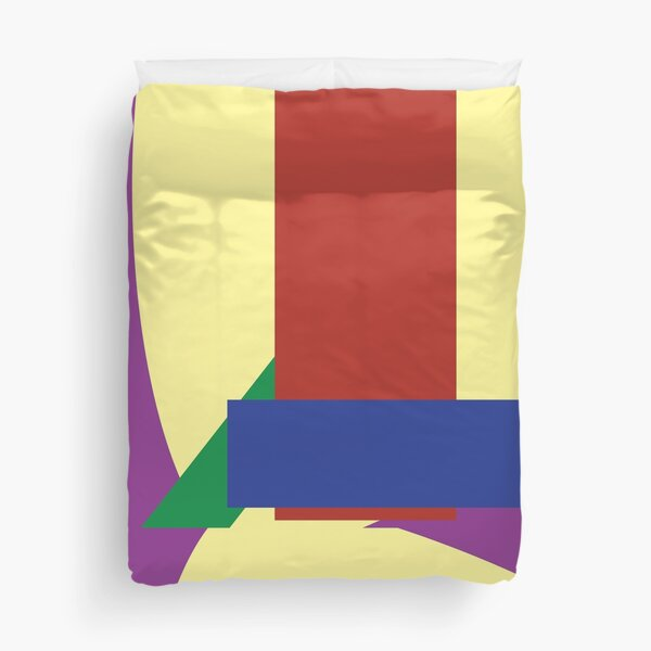 Always home at home Modern art design Duvet Cover