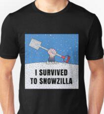 I SURVIVED TO SNOWZILLA T-Shirt