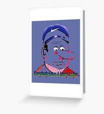 Lousy Golfers Greeting Card